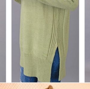 Carols Boutique Sweaters - Sweater Tunic Oversized Turtleneck Thick
